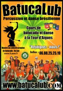 BATUCALUB - BATUCADA - LA TOUR D'AIGUES - LUBERON